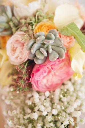 floral bouquet: wedding bouquet Stock Photo