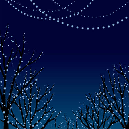Christmas Illuminations/Blue