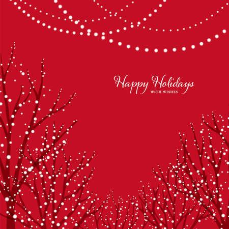 Christmas Illuminations/Red