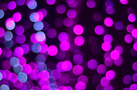 abstract background blue bokeh  for Christmas background