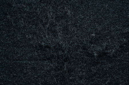 flannel: Old flannel black background texture Stock Photo