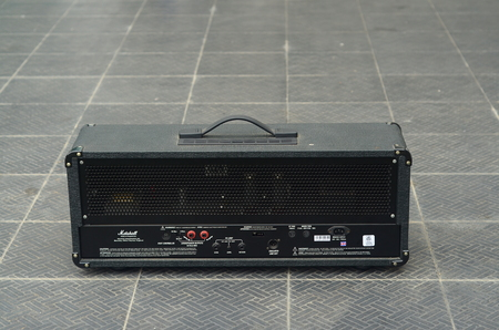 marshall: KHONKAEN, THAILAND - December 15, 2016: Marshall amplifier JCM2000 TSL60. Marshall was founded by drum shop owner and drummer Jim Marshall, and is now based in Bletchley, Milton Keynes. Editorial