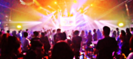 La festa del club è sfondo sfocato Archivio Fotografico - 89975622