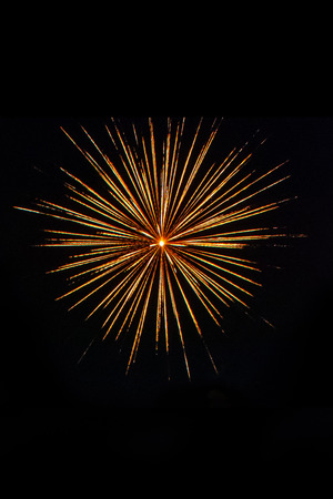 firework Abstract background,Fireworks light up the sky with dazzling display