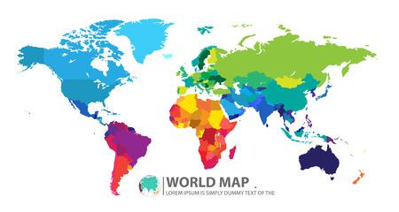 pacífico: mapa do mundo