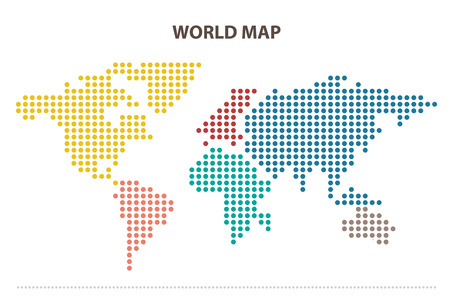 world icon: World map