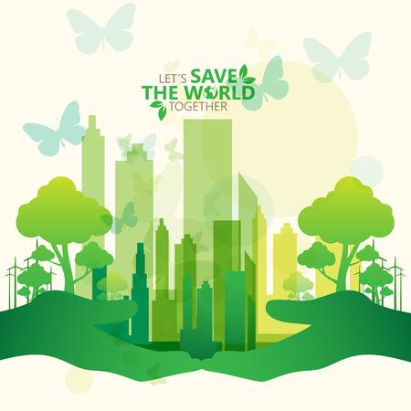 green environment: green concept