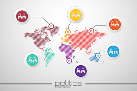 wold map: map infographic