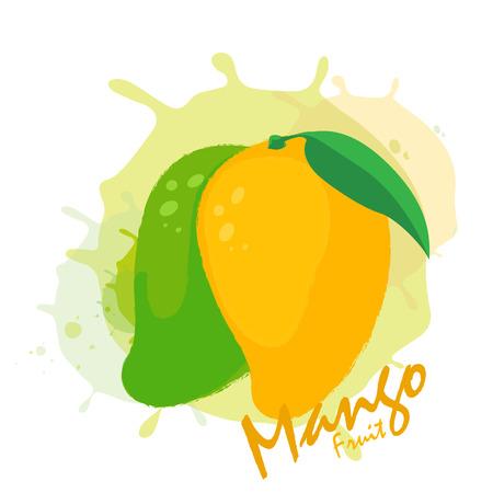 venereal: mango fruit Illustration