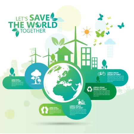medio ambiente: entorno  Vectores