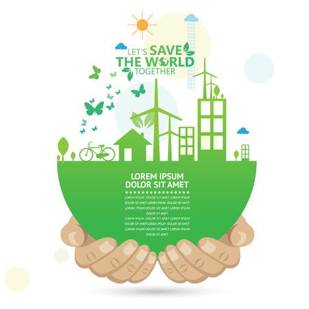agricultura: entorno  Vectores