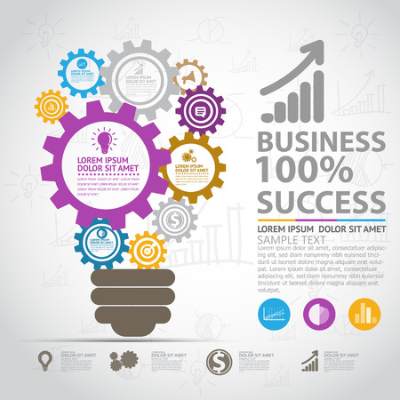 objectives: Business infographic