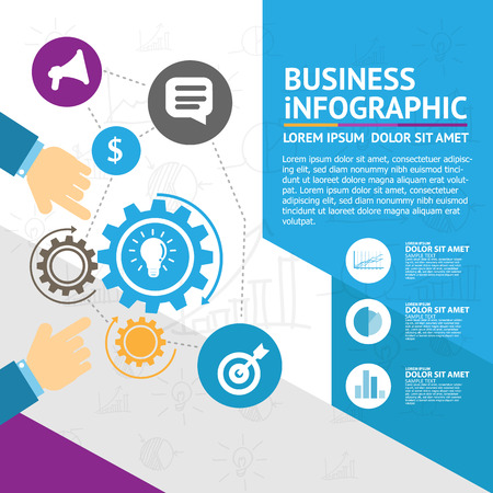 scope: Business infographic
