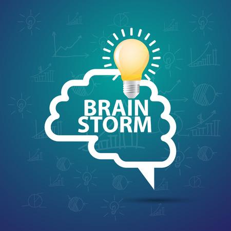 creative idea: Brainstorming creative idea