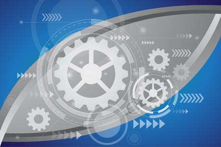 technology background: technology concept background Illustration