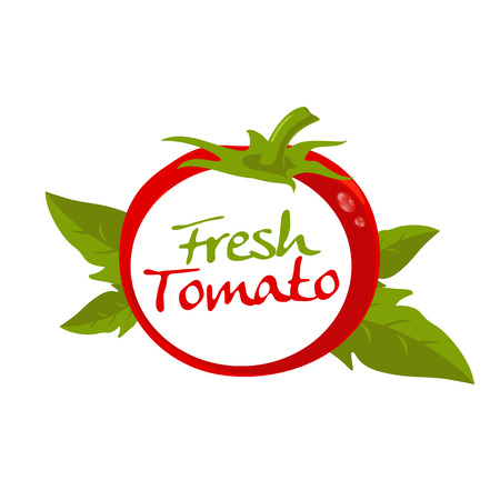 produce product: tomato vector
