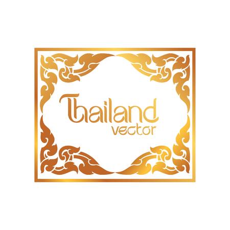 thai art: Thai Art Background vector