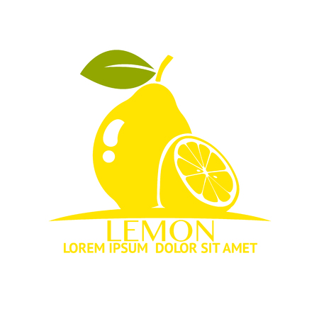 lemon slice: fresh lemon Illustration