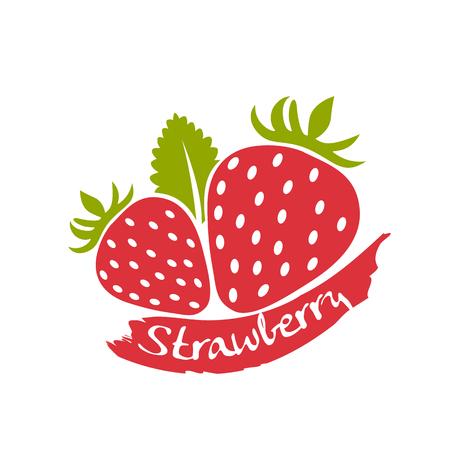 strawberry  イラスト・ベクター素材