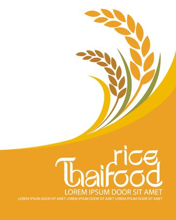 rice vector Vettoriali