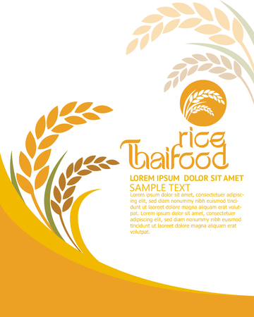 vector  sign: rice vector Illustration