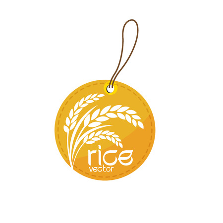 rice vector Иллюстрация