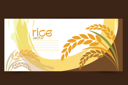 avena: vector de arroz
