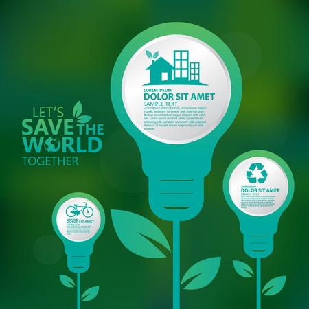 business environment: environment infographic Illustration