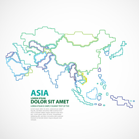 asia map: ASIA MAP