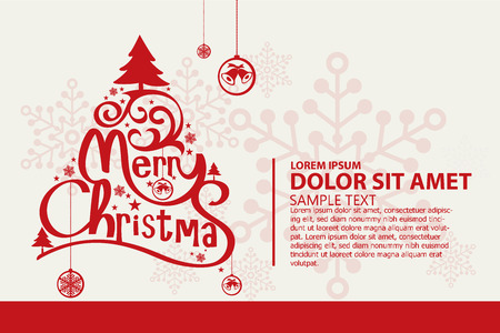 to surprise: Christmas vector background