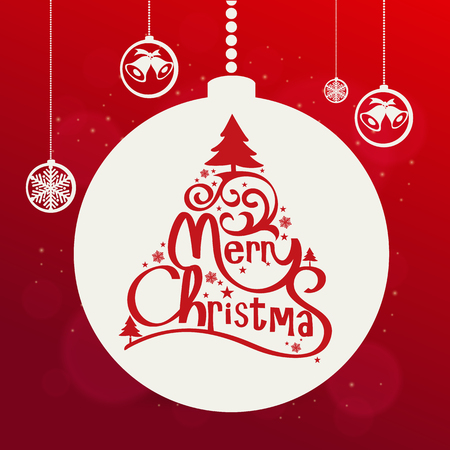 snow: Christmas vector background