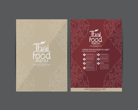 thai style: Thai Art vector Illustration