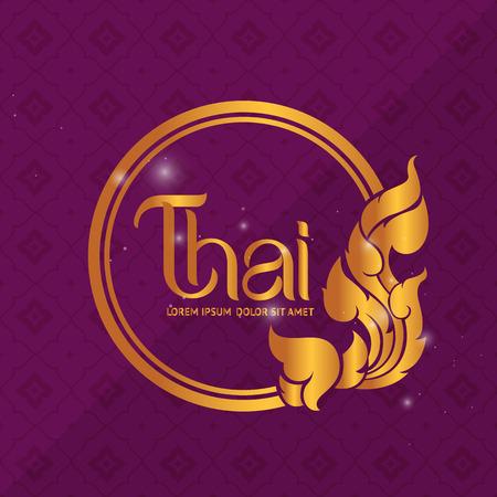Thai Art vector Çizim