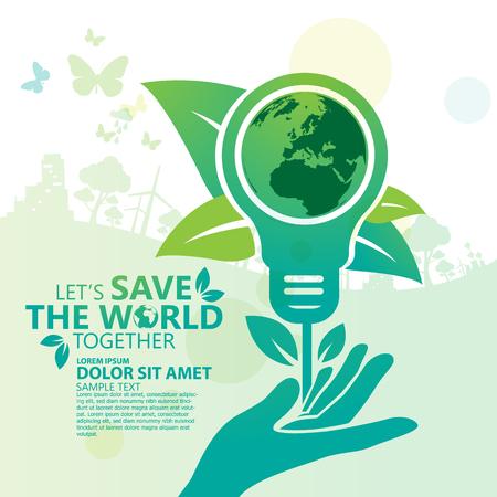 sustentabilidad: Ambiente. Salvemos el Mundo Juntos