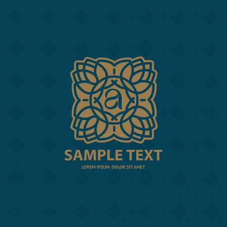 graphic pattern: Thai Art vector Illustration
