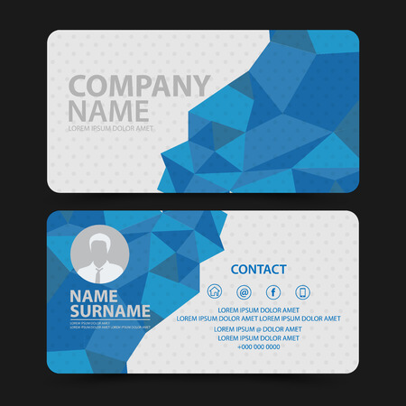 business card design: Business Card