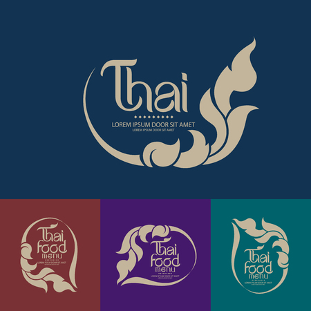 thai style: Thai Art Vector