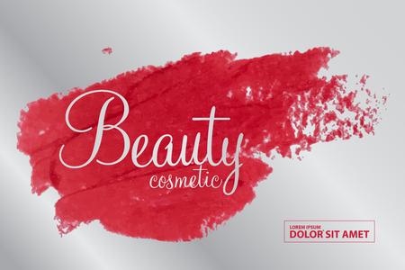 Schönheitskosmetik-Vektor
