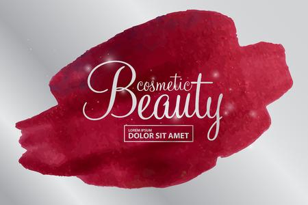 Schönheitskosmetik-Vektor Vektorgrafik