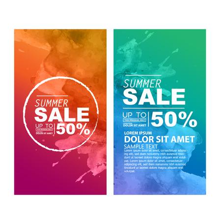 Sommer-Verkauf Vektorgrafik