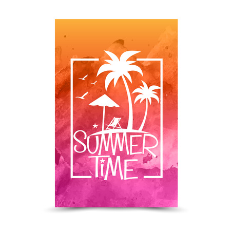 summer holiday: summer holiday vector