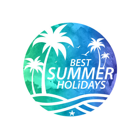 tours: summer holiday vector