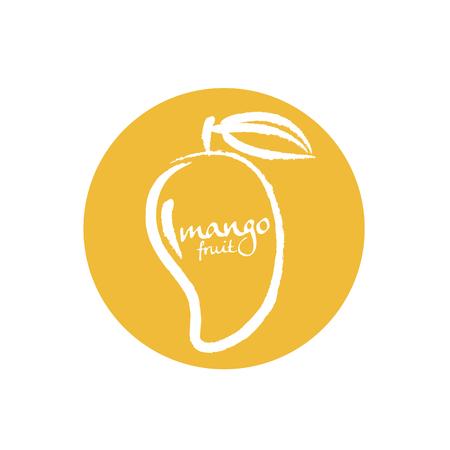 owoców mango Ilustracje wektorowe