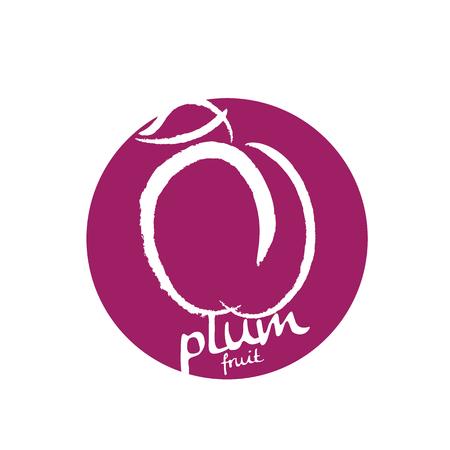 prune: plum Illustration