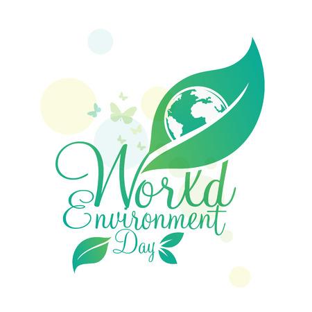 World environment day vector 일러스트