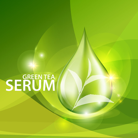 Collagen Serum Background Concept Skin Care Cosmetic