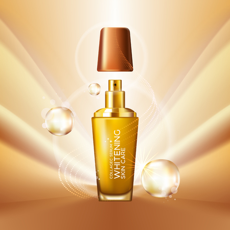 Collageen Serum Achtergrond Concept Skin Care Cosmetic