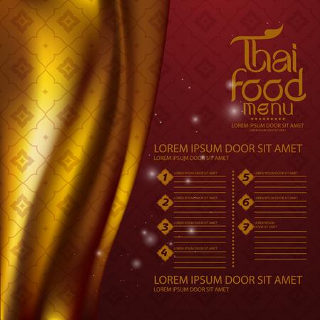 Thai Art Background vector