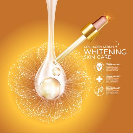 Collagen Serum Background Concept Skin Care Cosmetic 版權商用圖片 - 59890751