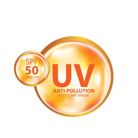 UV-Schutz und Whitening Hautpflege